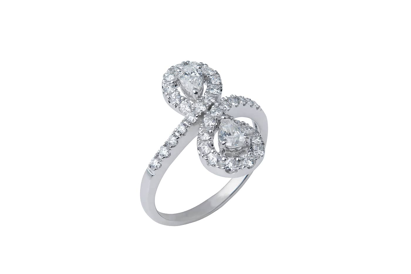 'Infinity' Diamond Ring