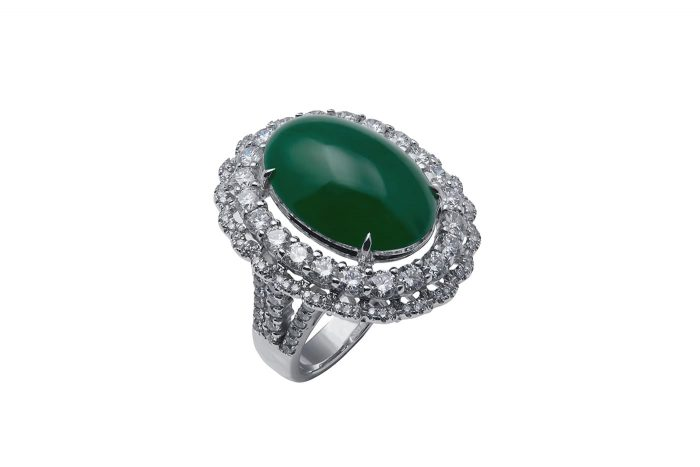 emerald jade ring