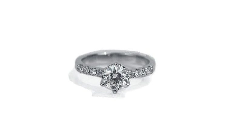 Classic Round Brilliant Diamond Ring