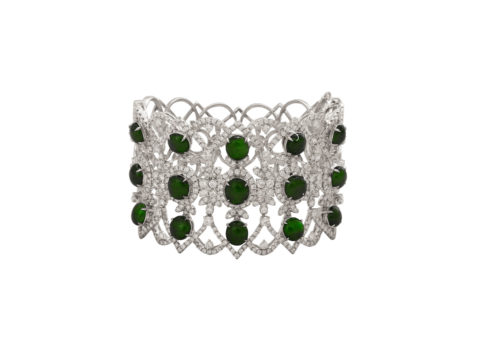 jadeite jade diamond bangle
