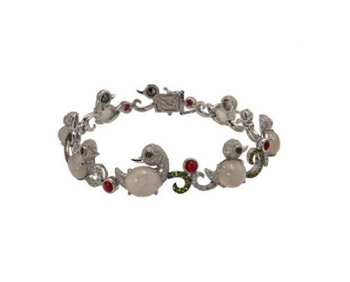 ice jade diamond bracelet